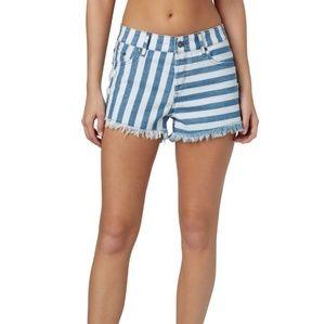 Roxy Smeaton stripe shorts